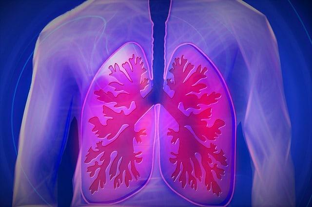lunge atmen