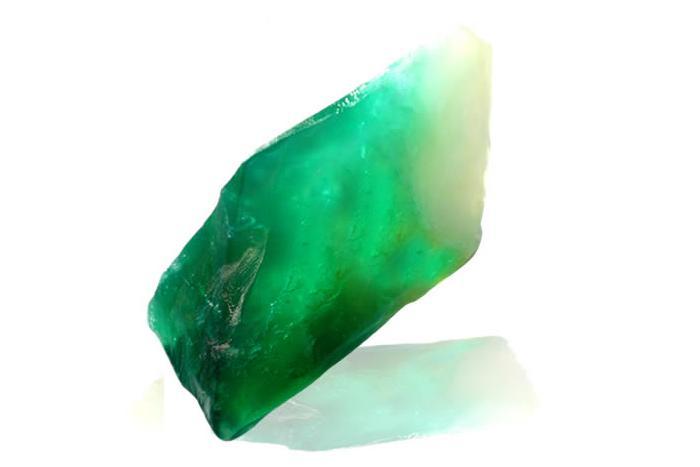 Smaragd Edelstein Seife
