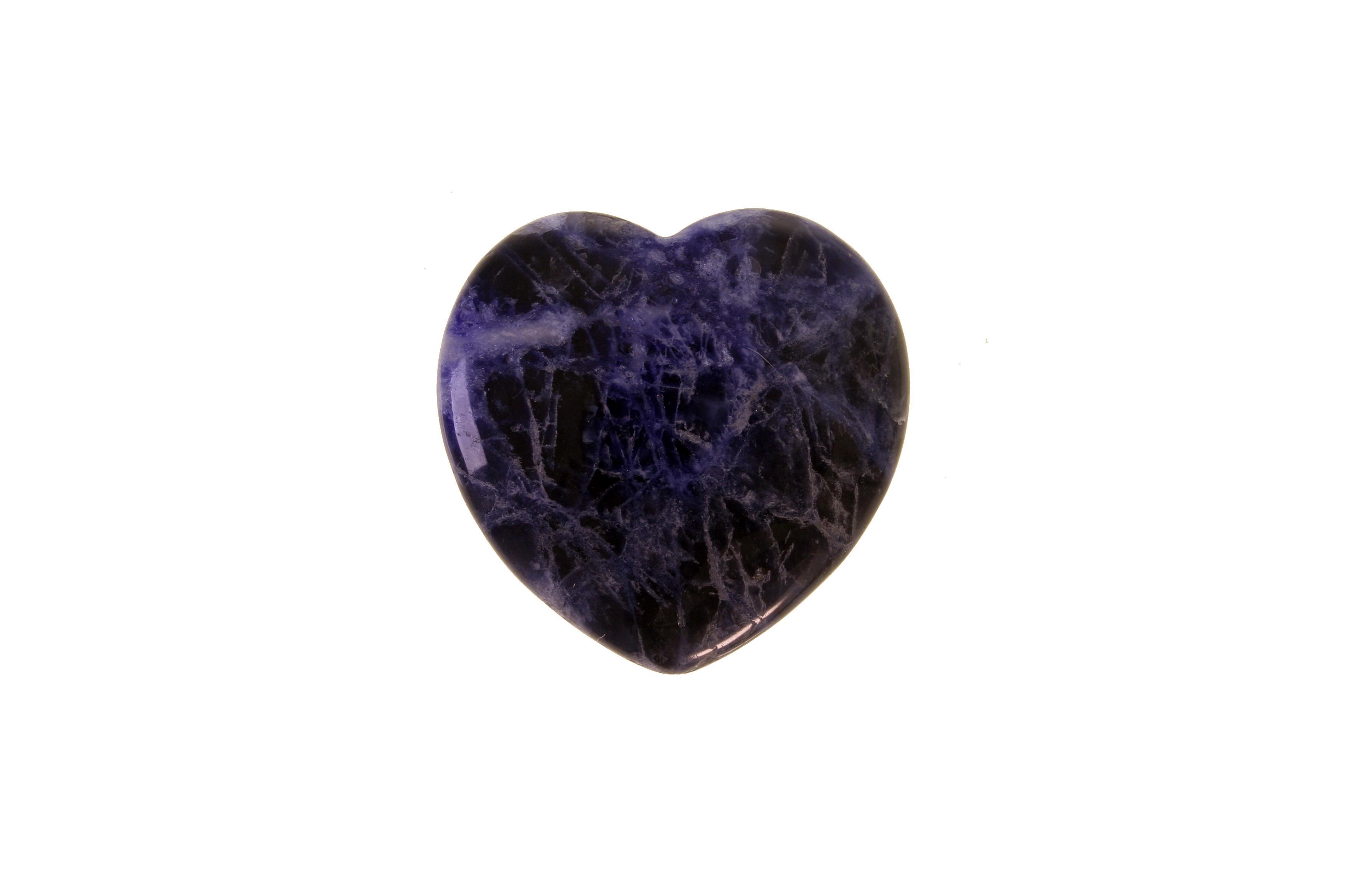 Mineralien-Herzli Sodalith