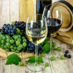 Wein gesund Rotwein Weisswein