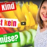 Kinder Gemüseteller